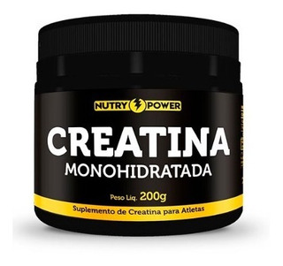 Creatina Monohidratada 200g Para Atletas - Nutry Power