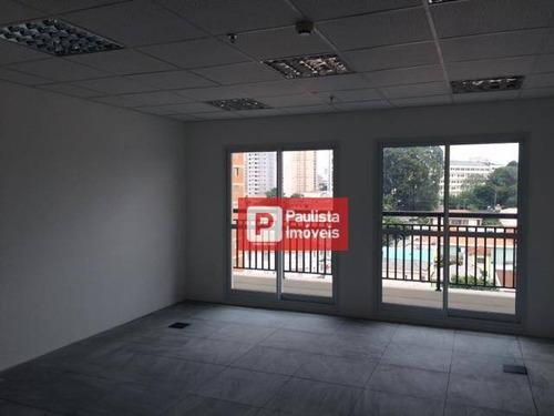 Conjunto Para Alugar, 74 M² Por R$ 2.800,00/mês - Santa Cruz - São Paulo/sp - Cj0642