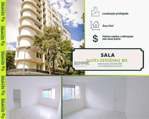 Imagem 1 de 12 de Sala À Venda, 47 M² - Santa Efigênia - Belo Horizonte/mg - Sa0039