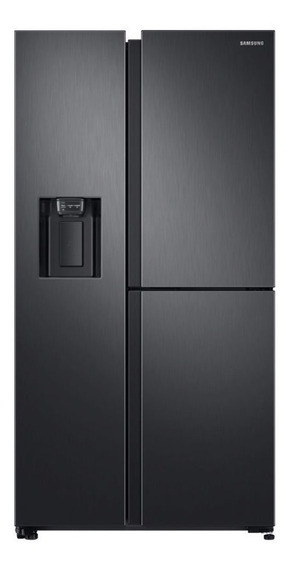 Refrigerador Side By Side 600l Samsung Rs68n8670b1/zs