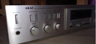 Espectacular Amplificador Akai Japan..inmejorable Estado