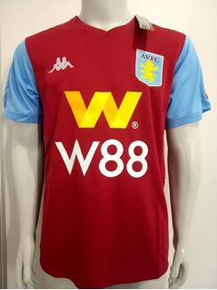 Camisa Aston Villa 19/20 Titular S/nº Torcedor