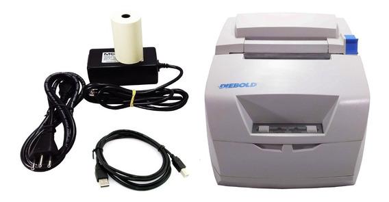 Impressora Cupom Não Fiscal Diebold Im453 Hu Com Guilhotina