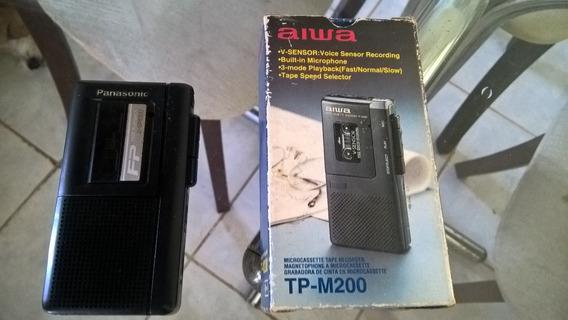 Micro Gravador Cassete Aiwa