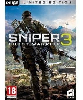 Sniper Ghost Warrior 3 + 1 Jogo Extra (mídia Física) Pc