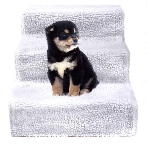 Imagen 1 de 4 de Escaleras Para Perro Mascotas Interior Pasos Portátil Plegab