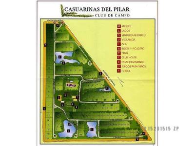 Lote En Venta En Club De Campo Casuarinas- Pilar Del Este