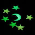Estrelas Fluorescentes Que Acende No Escuro.