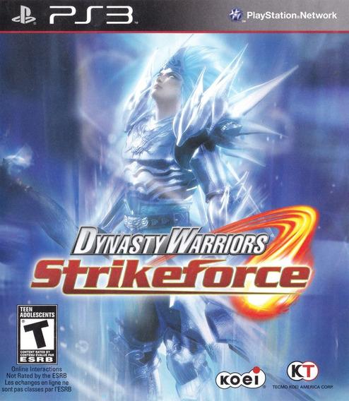 Dynasty Warriors Strikeforce - Ps3 - Usado
