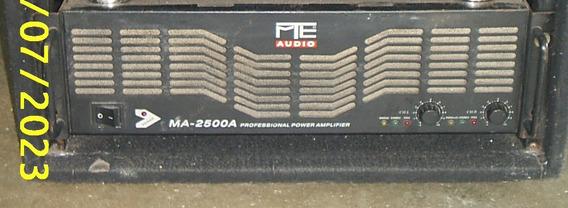 Power Amplificador Mte 2500a