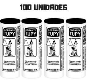 100 Tinta Corante De Roupas Preto Tupy 45g Promoção Oferta