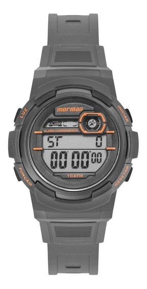 Relógio Infantil Masculino Mormaii Fun Mo0201c/8l 40mm Cinza