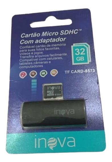 Cartão De Memória Micro Sd 32gb Inova - Original + Nf