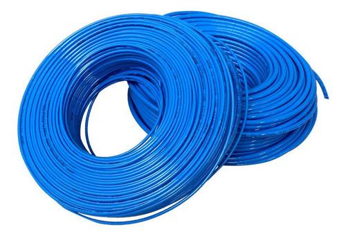 Imagen 1 de 1 de Manguera Neumática 3/8 Poliuretano Azul