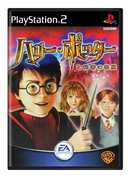 Harry Potter To Himitsu No Heya Ps2 Japonês Mídia Física