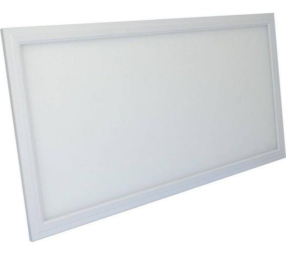 Luminaria Retangular Led 30x60 24w Maxtel Embuti Branco Frio
