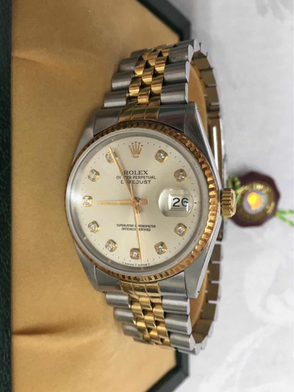 Relógio Rolex Oyster Perpetual Datejust Ouro