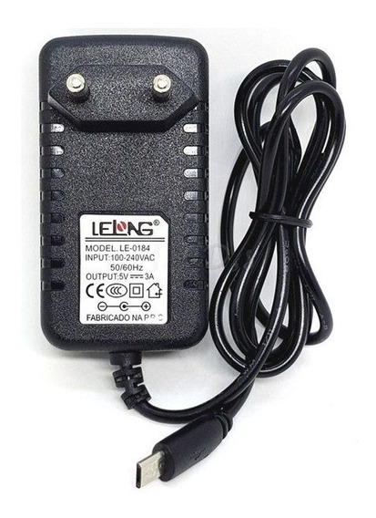 Carregador Tablet/raspberry/smatphone Le-0184 Lelong