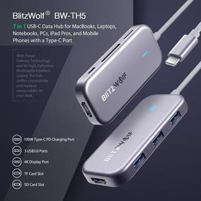 Blitzwolf Thunderbolt 3 Usb C Hub Hdmi Macbook Pro Adaptador