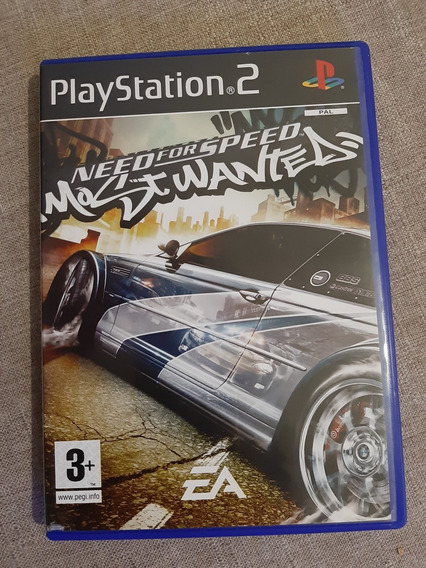 Need For Speed Most Wanted Ps2 Original Pal Europeu