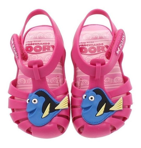 Sandalia Infantil Zaxy Nina Dory Nemo Disney Barbie Frozen