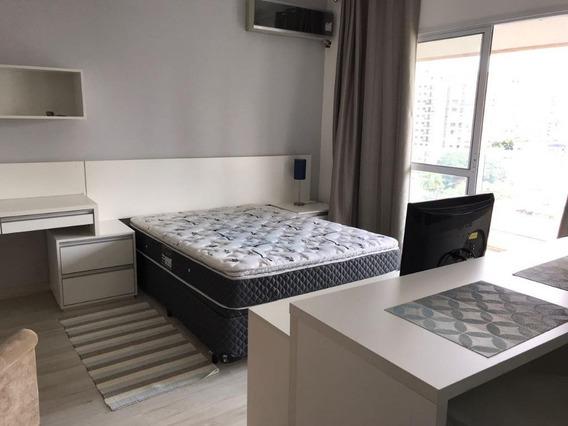 Apartamento Com 1 Dormitório Para Alugar, 36 M² Por R$ 3.000,00/mês - Campo Belo - São Paulo/sp - Ap0795