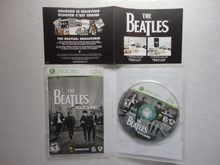 Rockband The Beatles Xbox 360 Disco De Juego Original