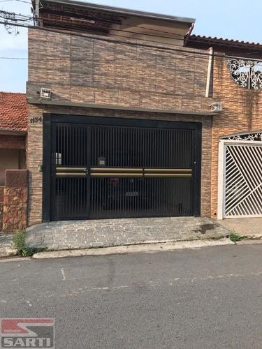 Imagem 1 de 15 de Otimo Sobrado Pq Edu Chaves Com 3 Dorms,1 Suite 2 Vagas Quintal Com Churrasq, Sala 2 Ambien  600 Mil - St16531