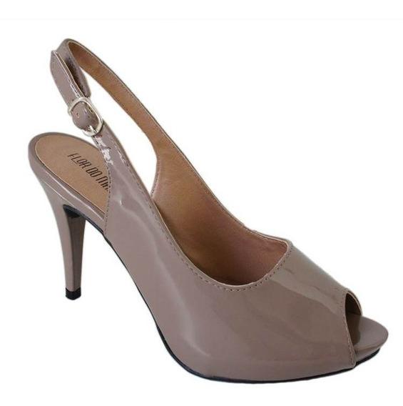 Sapato Flor Do Mar Salto10,5cm Fino - Re713738010 Rato