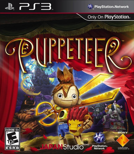 Puppeteer Playstation 3 Fisico