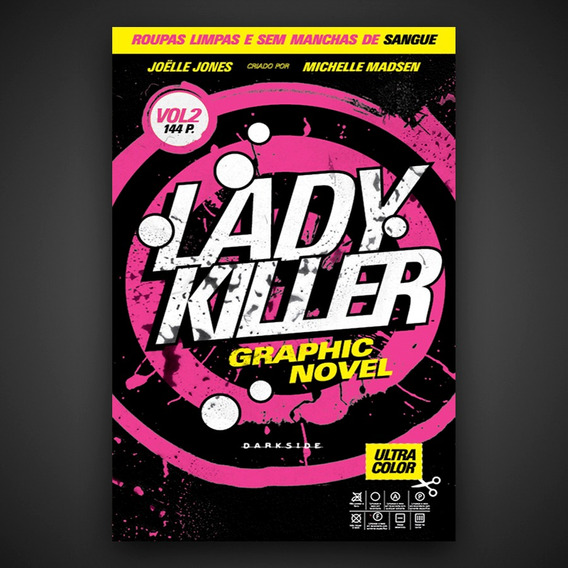 Livro Lady Killer: Graphic Novel Vol. 2 - Darkside Books