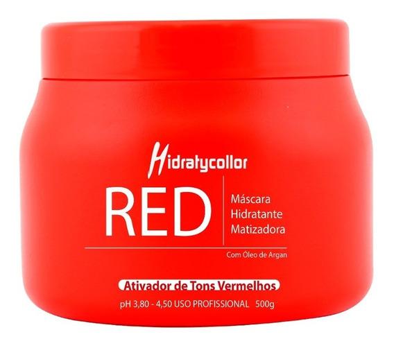 Condicionador Matizador Red Vermelho Mairibel Pote 500g