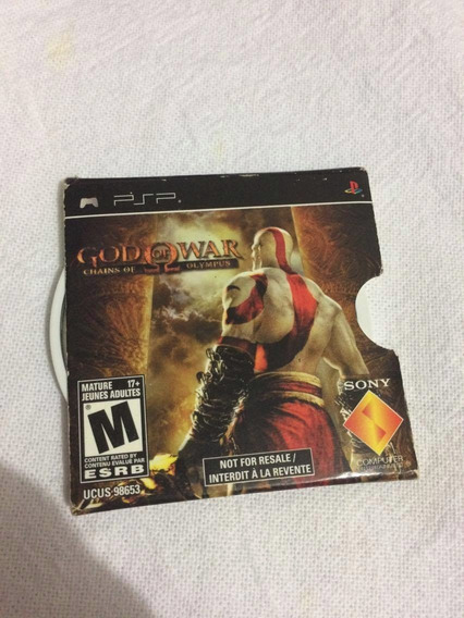 God Of War Chains Of Olympus Original Psp**