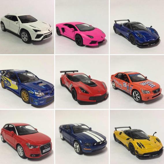 Carros Em Miniaturas C/4 Un.