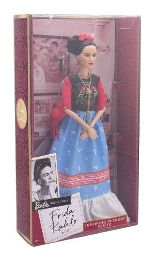 Boneca Barbie Collector Inspiring Women Series Frida Kahlo