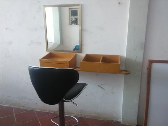 Gavetas Para Barbería, Espejos Sillas
