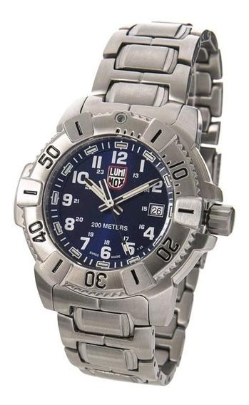 Luminox Navy Seal Evo Xs.6204 Aço Inoxidável - Azul