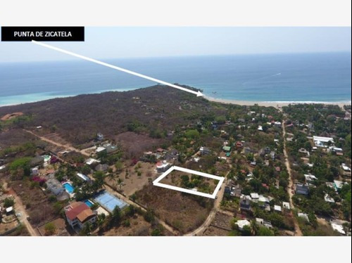 Terreno En Venta Playa Zicatela