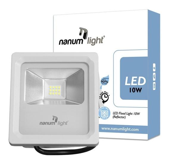 Lámpara Led Reflector 10w (85-277v) Ip66 / 6500k Nanum Light