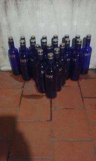 Oferta!!! Botellas Azules Vacias Sky