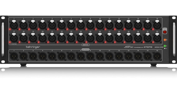 Stage Box Behringer S32 Conversor Digital 32in/16out Midas