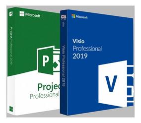 Licença Serial Visio + Project 2019 Original Atualizável