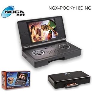 Consola Portatil Noganet Pocky 16d (tipo Sega 16bits)