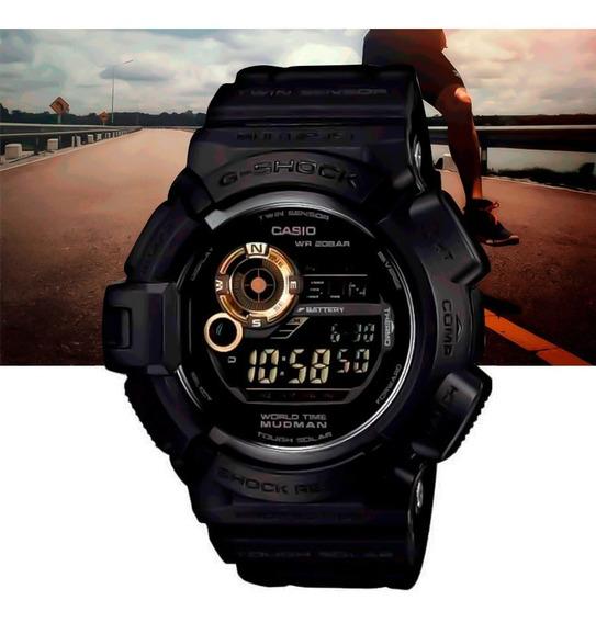 Relógio Casio G-shock Masculino Mudman G-9300gb-1dr Preto