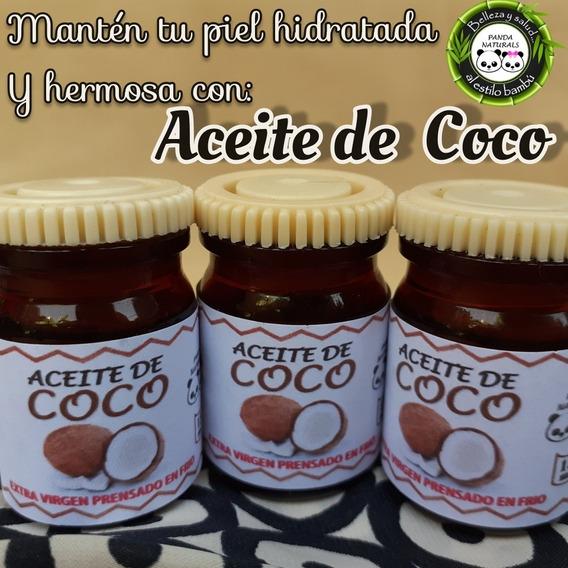 Aceite De Coco Extra Virgen Comestible 15ml