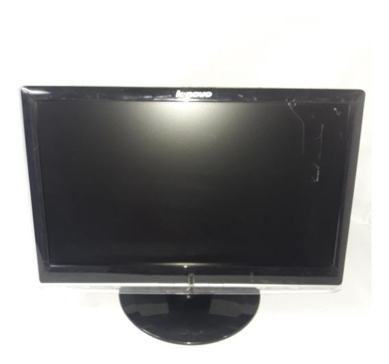 Monitor Lenovo D1960wa Lcd - 18.5 - 1366 X 768 - Dvi-d - Com Risco Na Tela