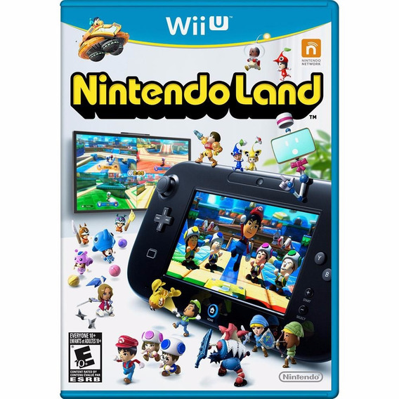 Nintendo Land Wii Impecável (semi-novo)