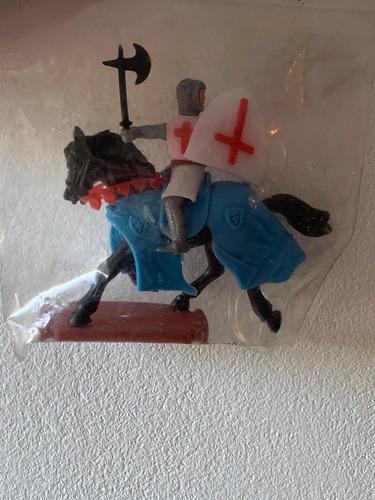 Soldadito Caballero Medieval Plasty Alemán