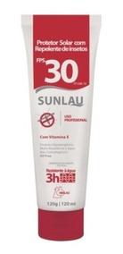 Protetor Solar Fator 30fps Com Repelente Bisnaga 120g