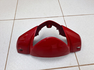 Tampa Farol Guidão Guidom Moto Biz C100 Original Vermelha